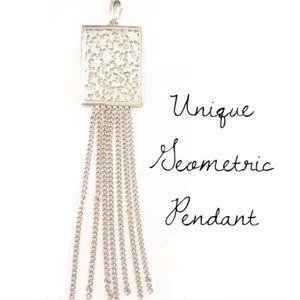 Jewelry - Silver Geometric Pendant